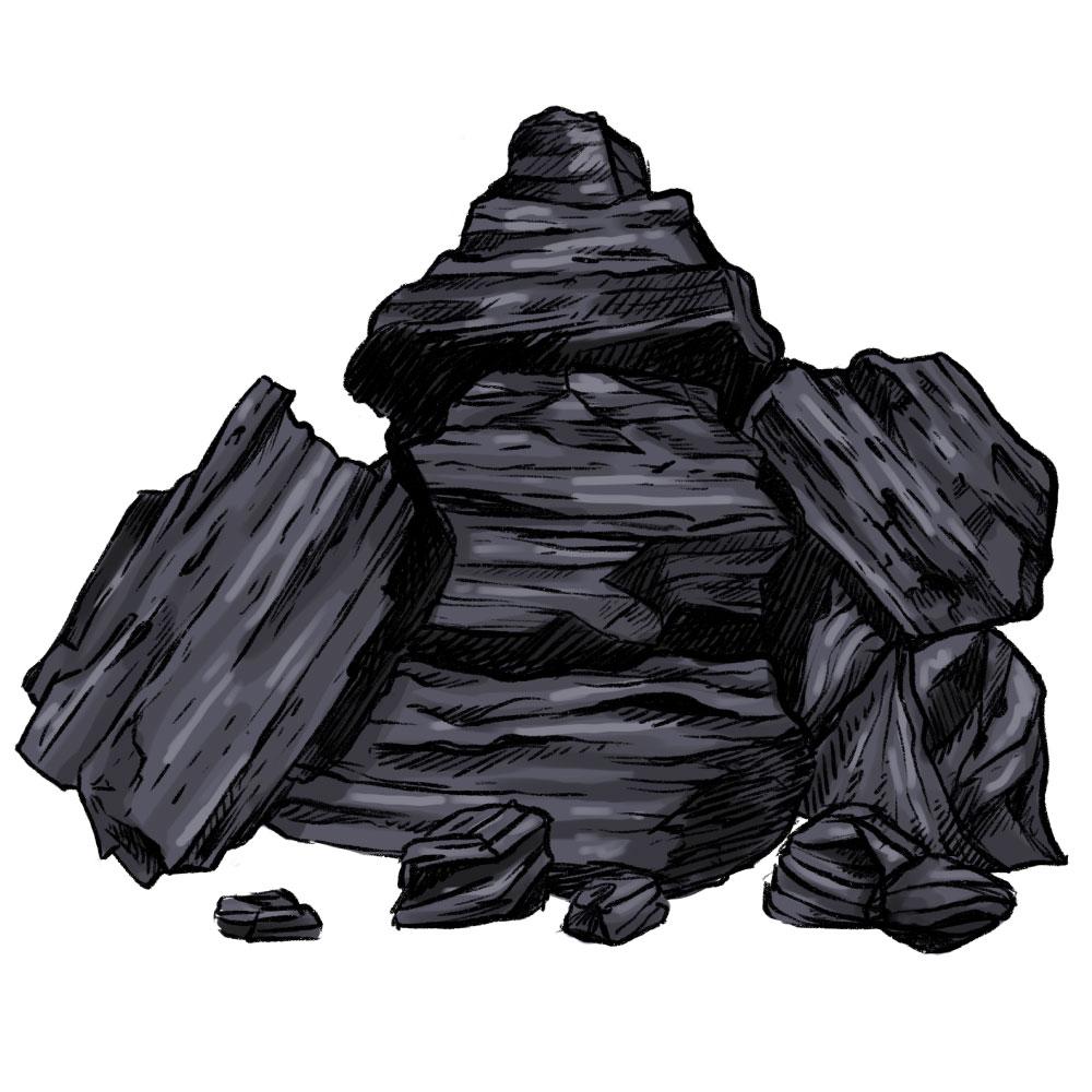 Carbon Activado Negro Dehesia