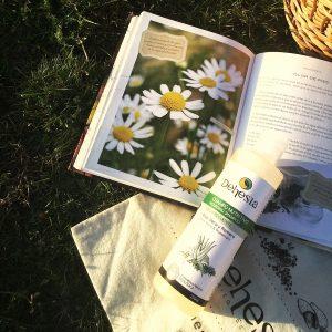Champú Aloe vera romero libro manzanilla