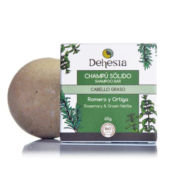 Champu Solido Cabello Graso Dehesia Cosmetica Natural