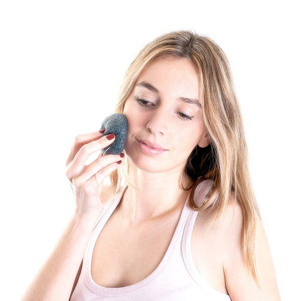 Esponja Konjac Facial Piel Grasa