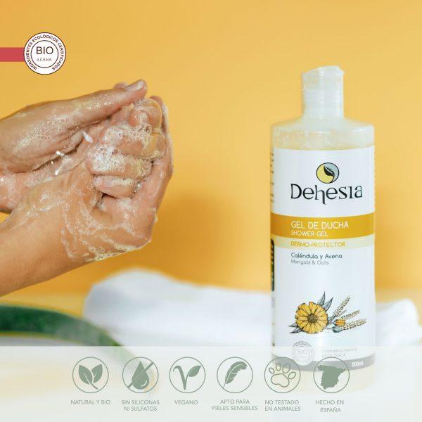 gel ducha dermo protector dehesia
