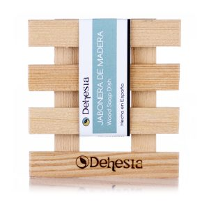 jabonera madera artesana cosmetica solida dehesia