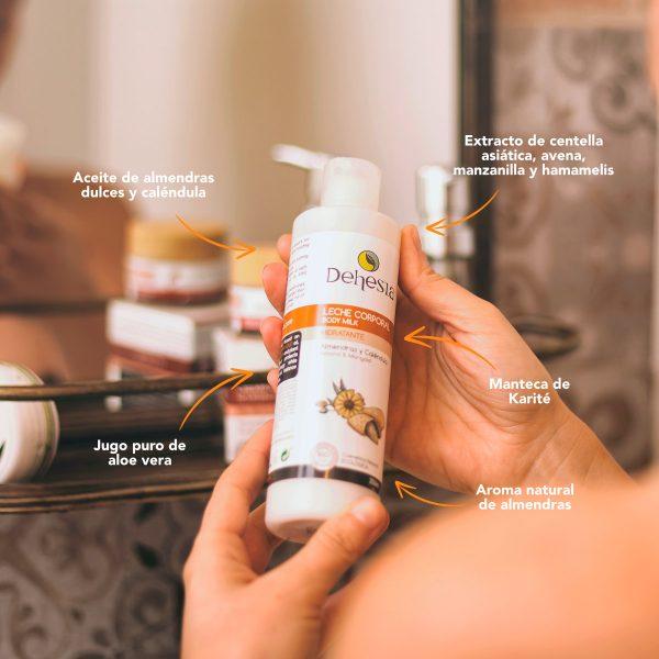 leche corporal bodymilk natural bio