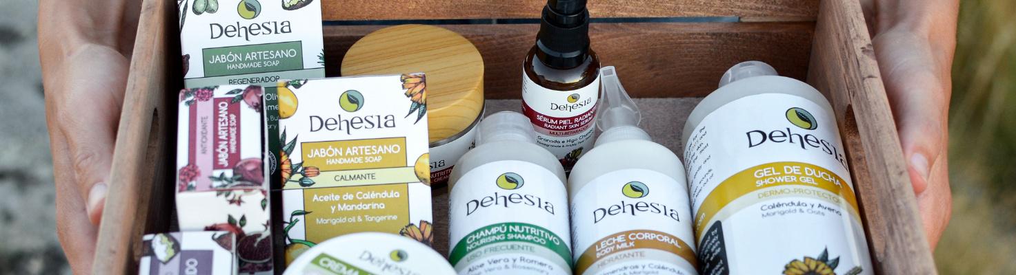 linea packs cofres regalo cosmetica natural dehesia