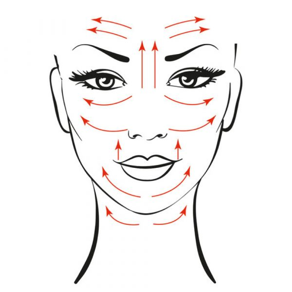 Masaje Facial Rodillo Jade