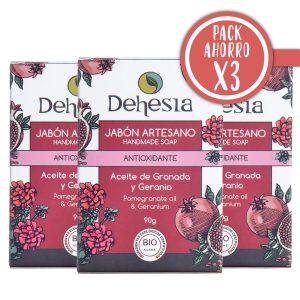 Pack Ahorro X3 Dehesia Jabon Antioxidante