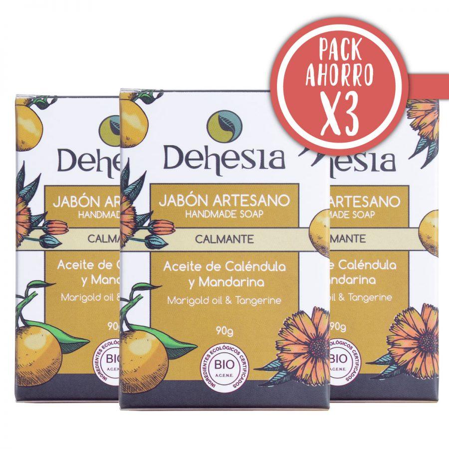 Pack Ahorro X3 Dehesia Jabon Calmante