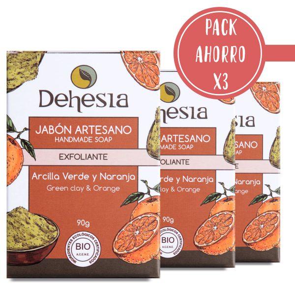 Pack Ahorro X3 Dehesia Jabon Exfoliante Dehesia
