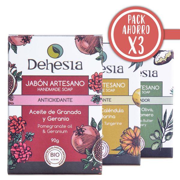 Pack Ahorro X3 Dehesia Jabones