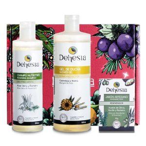 Pack Cofre Navidad Regalo Higiene Natural Cosmetica Dehesia